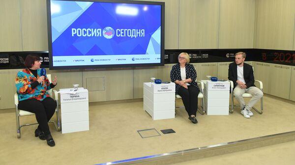 Участники мастер-класса Статья на непонятную тему, которую прочтут все: как написать в в Международном мультимедийном пресс-центре МИА Россия сегодня