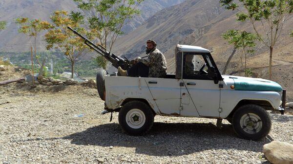 Ополченцы, подконтрольные Ахмаду Масуду, сыну покойного Ахмад Шаха Масуда, в провинции Панджшер