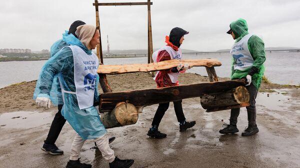 В Мурманской области провели марафон субботников