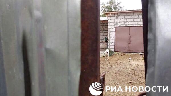 Гараж в Нижнем Новгороде, где удерживали похищенную девушку