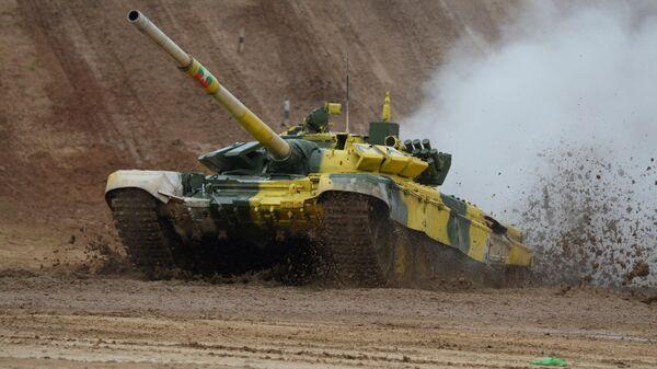 LIVE: Финал армейских международных игр по танковому биатлону