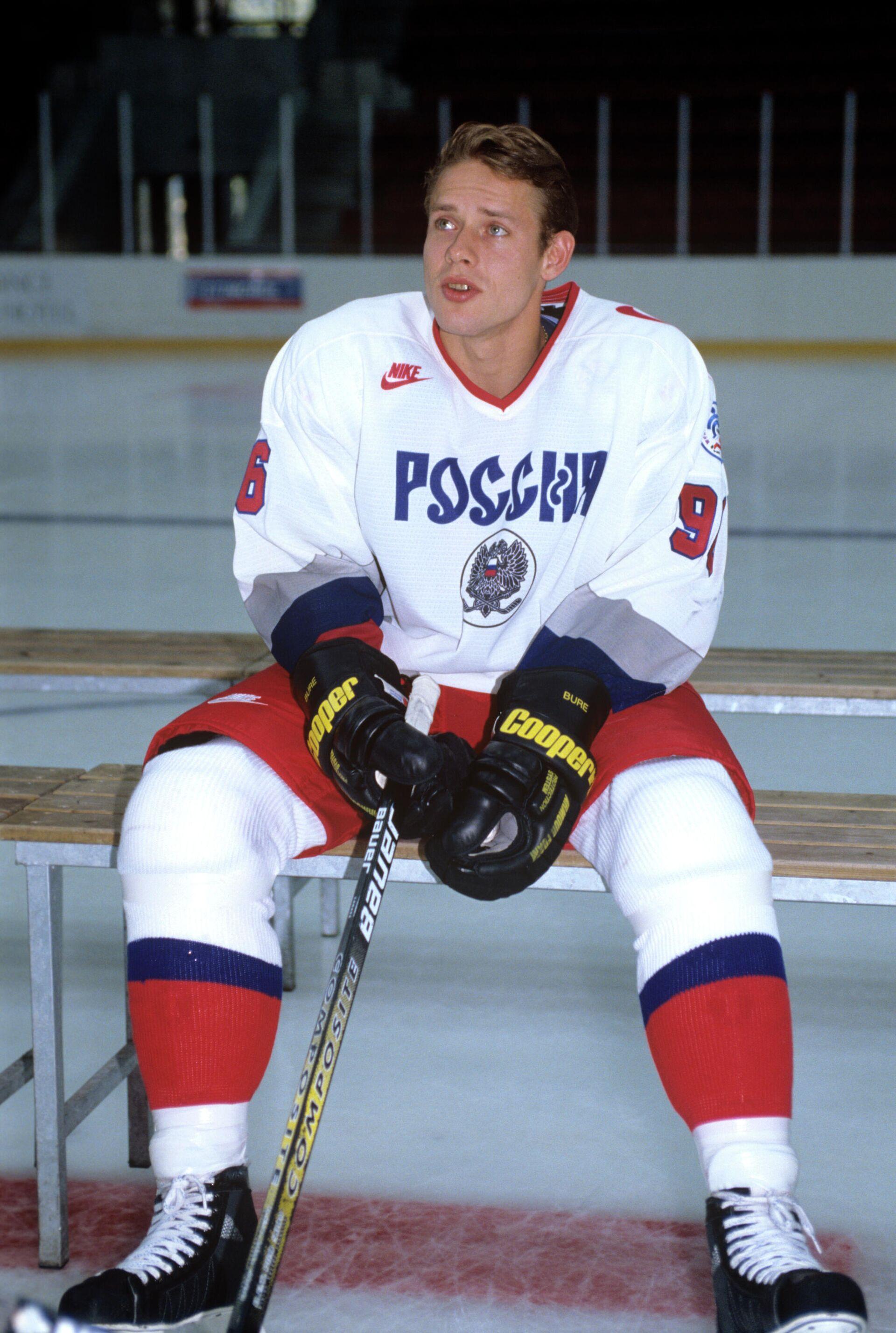 Российский хоккеист Павел Буре в 1996 году - РИА Новости, 1920, 05.09.2021