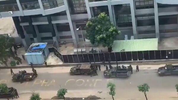 Стрельба на улицах Конакри