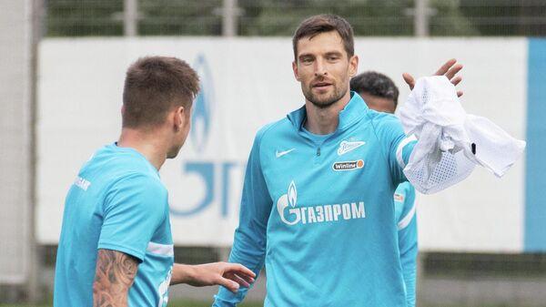 Вратарь Зенита Станислав Крицюк