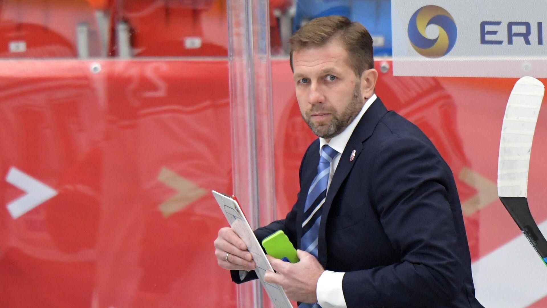 Главный тренер Витязя Юрий Бабенко - РИА Новости, 1920, 18.09.2021