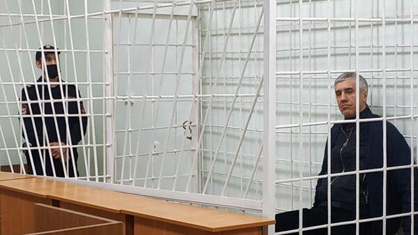 Бизнесмен и политик Анатолий Быков, обвиняемый в организации двойного убийства в 1994 году, на заседании в Свердловском районном суде города Красноярска