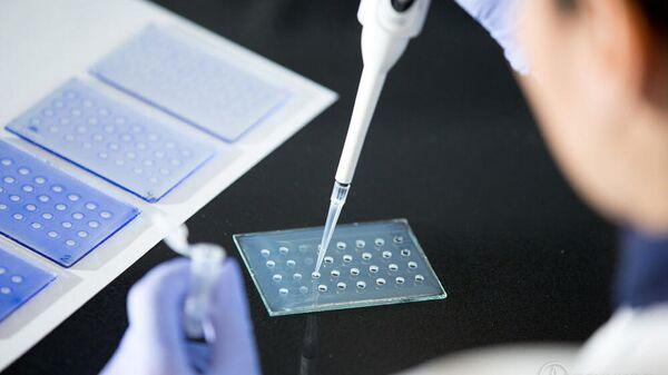 Лаборатория Санкт-Петербургского НИИ вакцин и сывороток