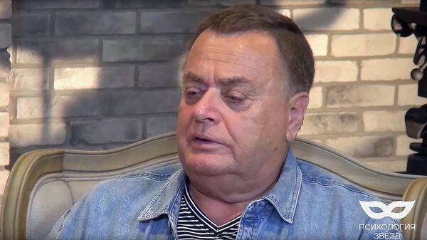 Кадр интервью Владимира Фриске YouTube-каналу Психология Звезд