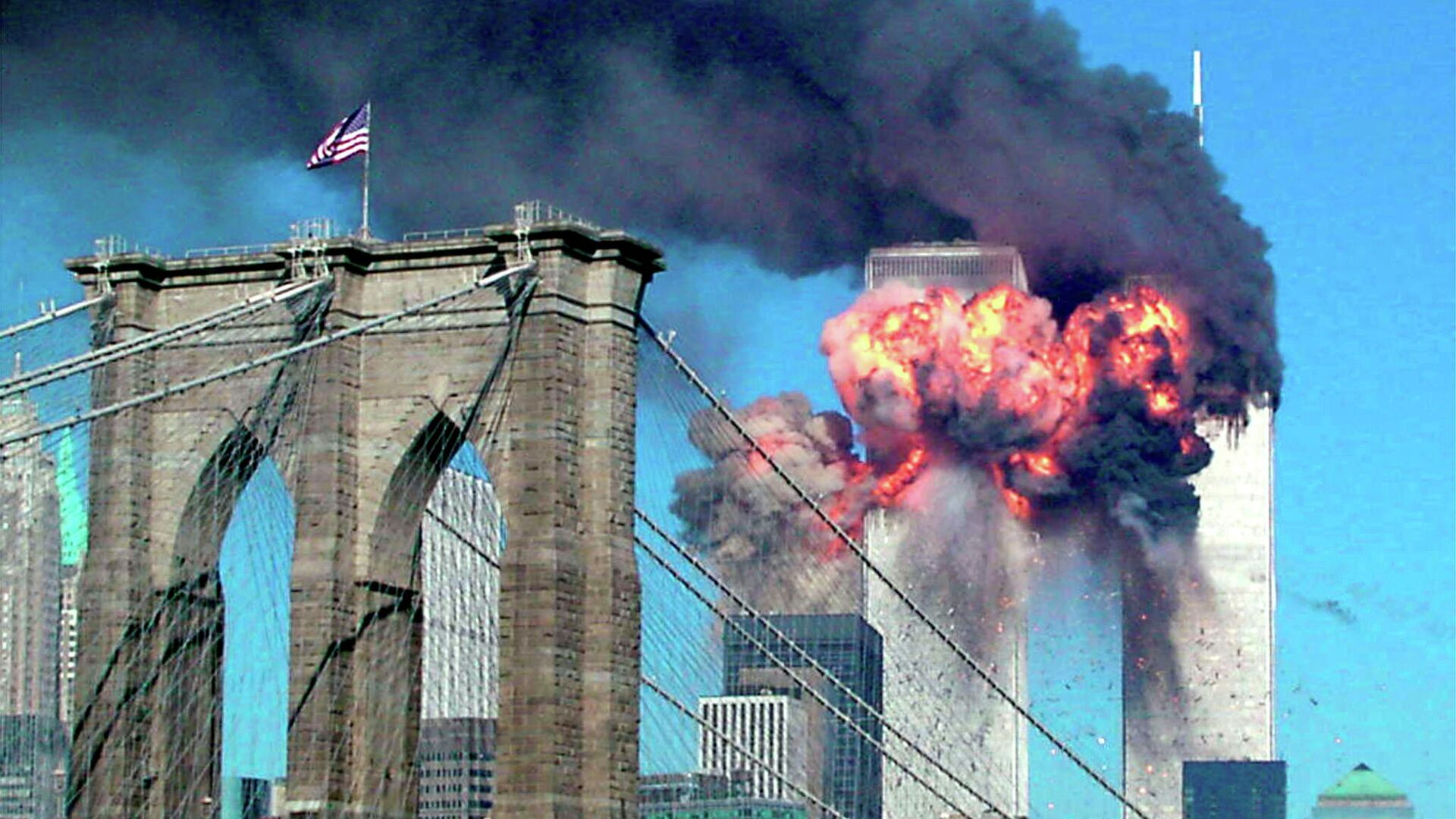 Теракт 11 сентября 2001 в Нью-Йорке - РИА Новости, 1920, 08.09.2021