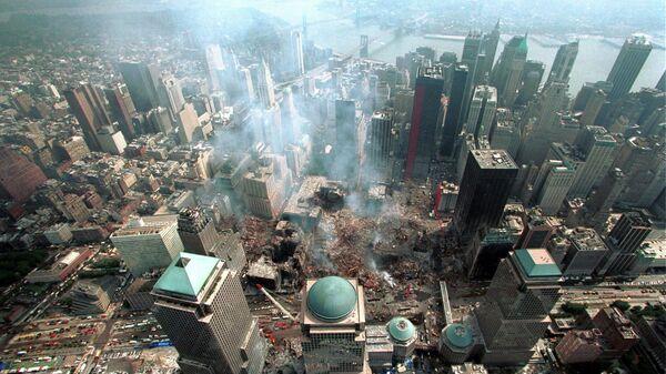 На месте теракта 11 сентября 2001 в Нью-Йорке