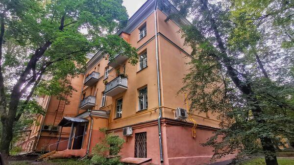 Дом на Подмосковной улице в Москве