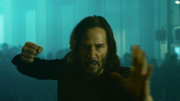 Кадр из трейлера Матрица: Воскрешение