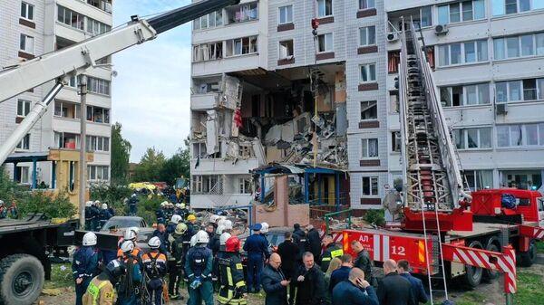 Взрыв газа в жилом доме в Ногинске