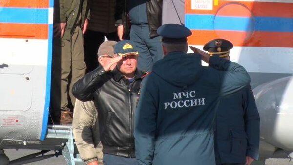 Кадры учений в Красноярском крае, где погиб Зиничев