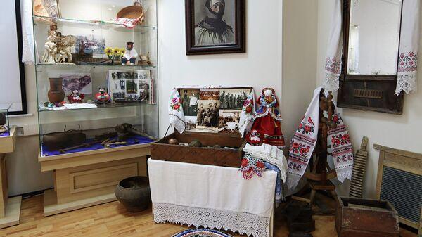 Экспозиция Музея истории российского казачества
