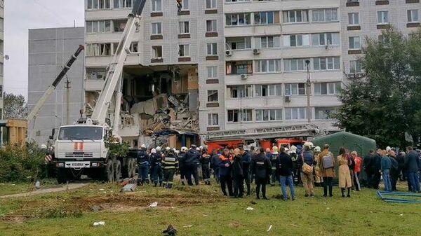 Взрыв газа в жилом доме в Ногинске: кадры ЧП и разбор завалов