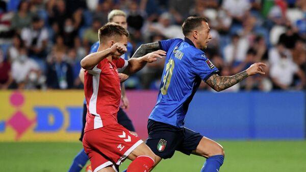 Италия - Литва в матче отборочного турнира чемпионата мира 2022 года в Катаре