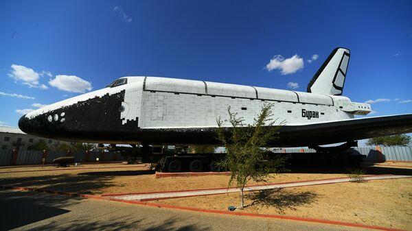 Многоразовый космический корабль Буран в музее истории космодрома Байконур