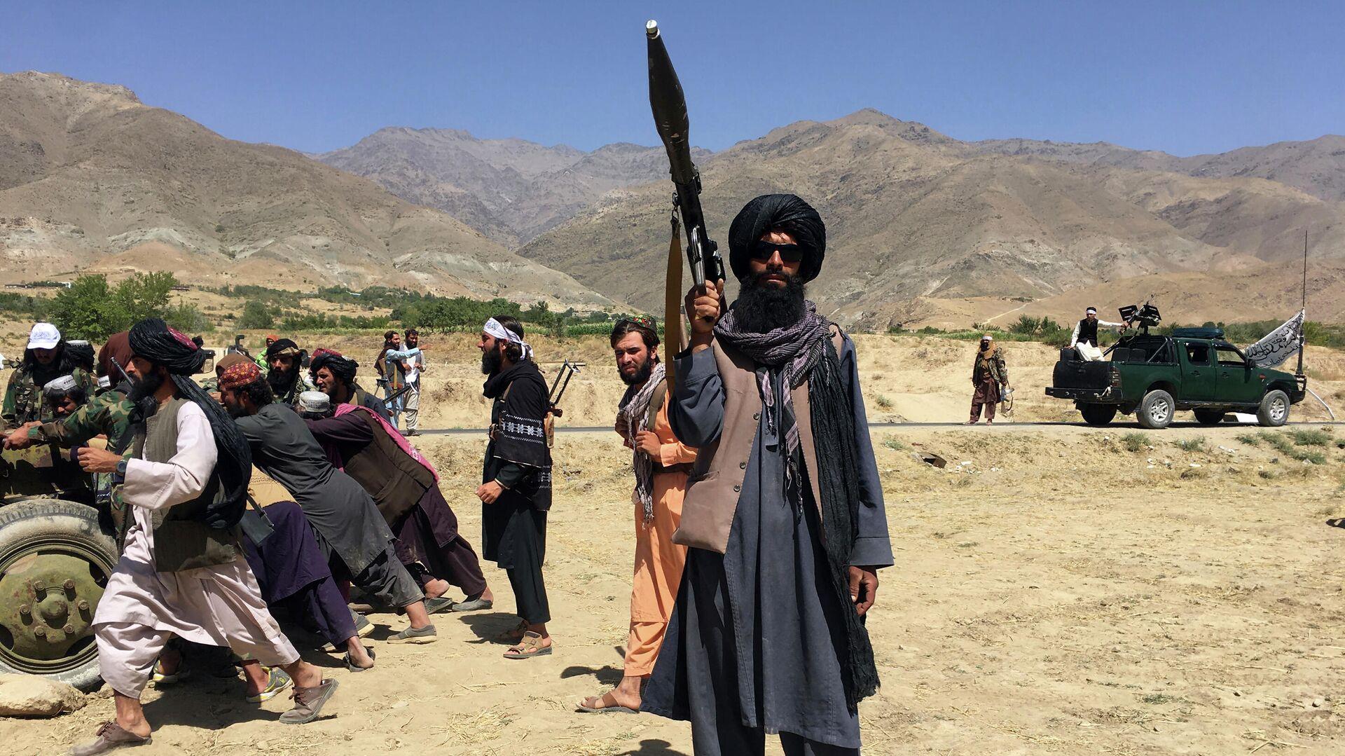 Талибы* в провинции Панджшер - РИА Новости, 1920, 17.09.2021