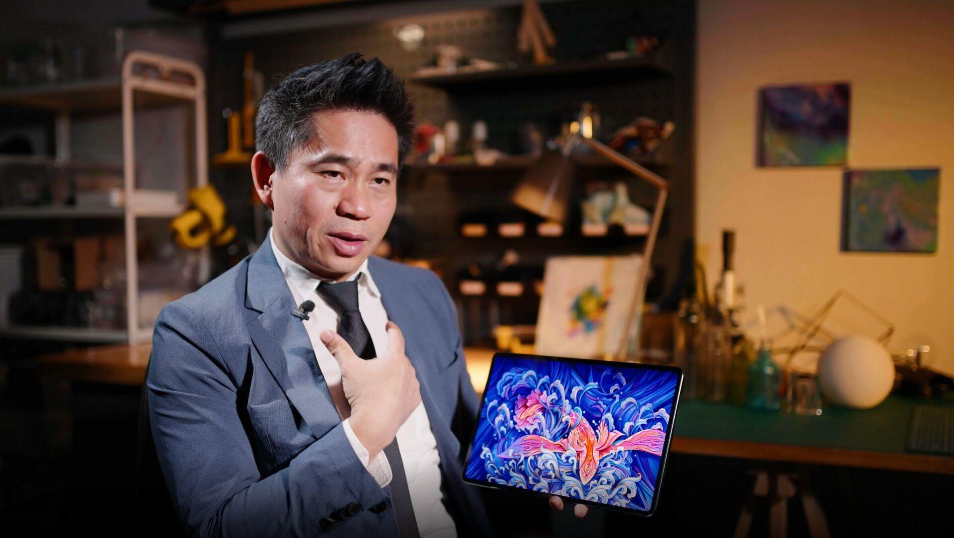Генеральный директор разработки пользовательского интерфейса Huawei Лян Цзюнь - РИА Новости, 1920, 09.09.2021