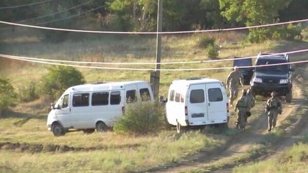 Контртеррористическая операция в Дагестане. Кадр видео