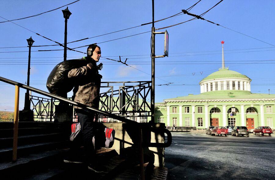 На одной из улиц Мурманска