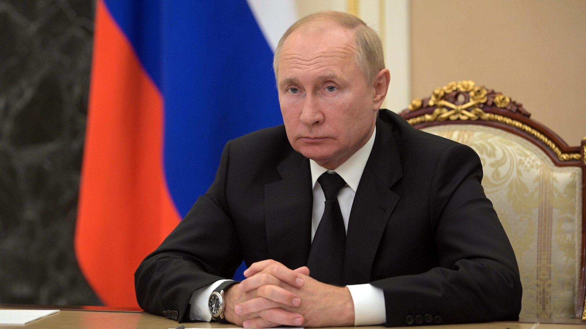 Президент РФ Владимир Путин - РИА Новости, 1920, 10.09.2021