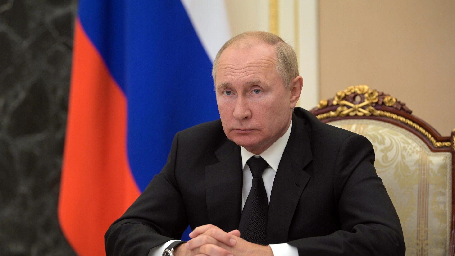 Президент РФ Владимир Путин - РИА Новости, 1920, 25.09.2021