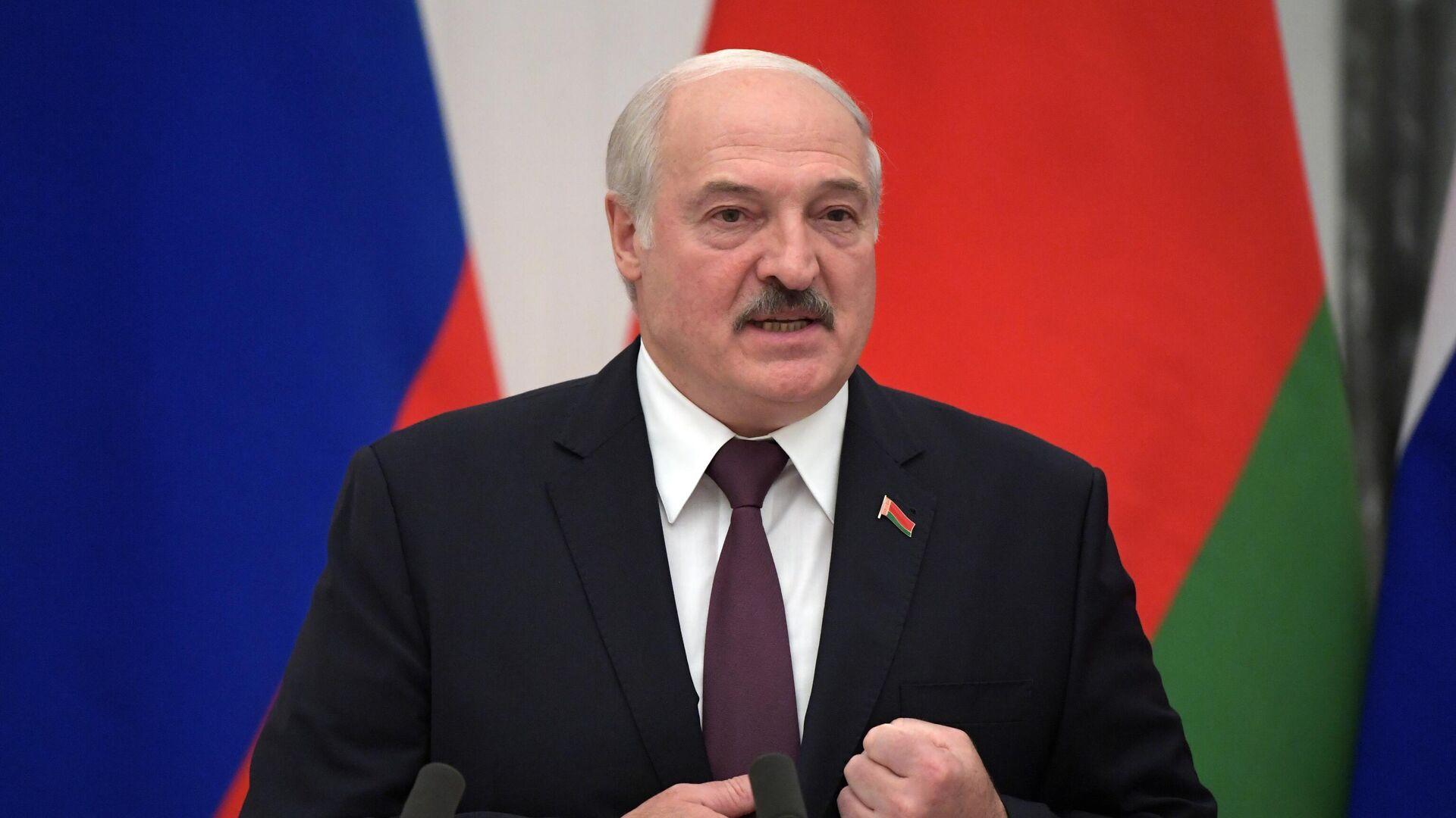 Президент Белоруссии Александр Лукашенко  - РИА Новости, 1920, 28.09.2021