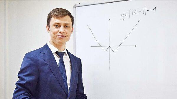 Казанский учитель Алмаз Хамидуллин