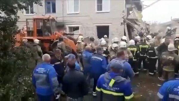 Взрыв газа в жилом доме в Ельце. Кадры с места ЧП