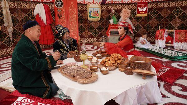 Этнографический комплекс Парк дружбы народов в Самаре