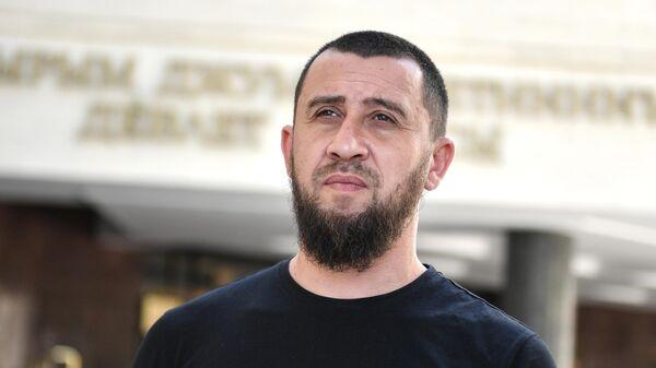 Глава региональной национально-культурной автономии крымских татар Эйваз Умеров.