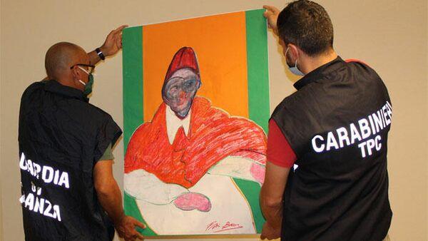 В Италии конфисковали 500 поддельных работ Фрэнсиса Бэкона