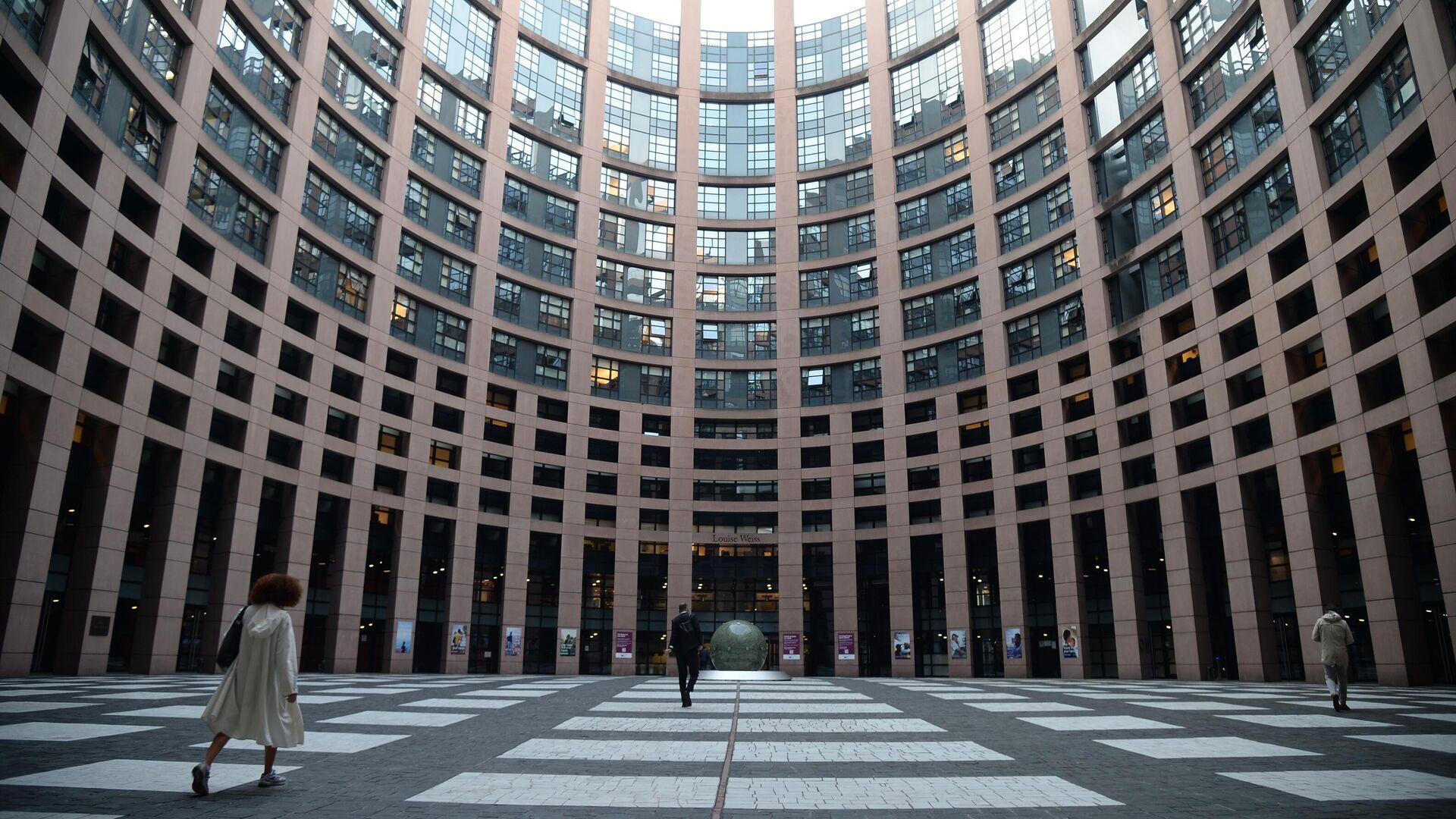 Здание Европейского парламента в Страсбурге - РИА Новости, 1920, 16.09.2021