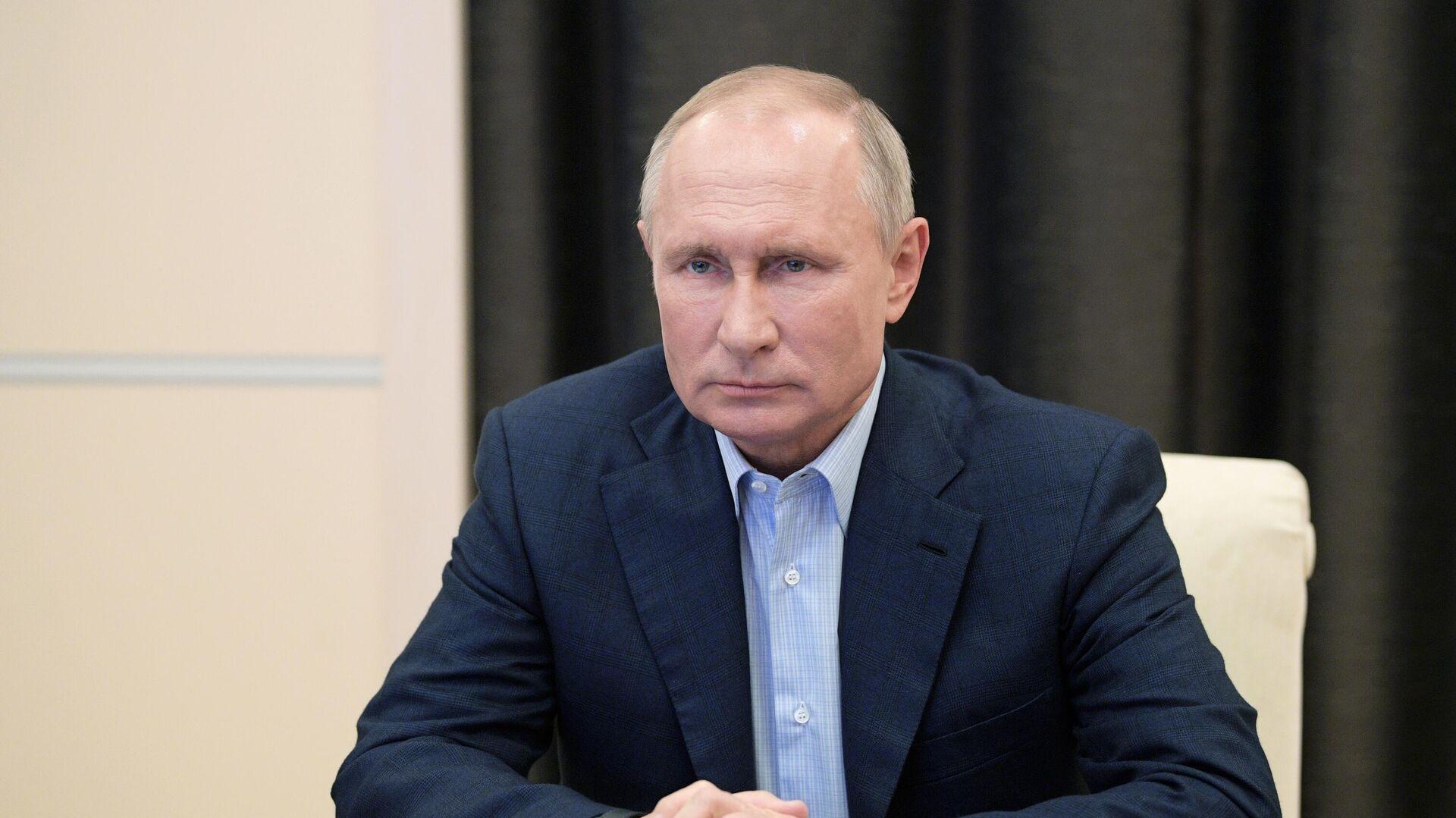 Президент РФ Владимир Путин  - РИА Новости, 1920, 14.09.2021