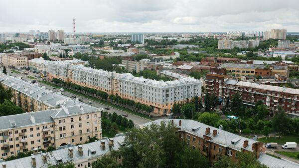Октябрьский район в Иванове