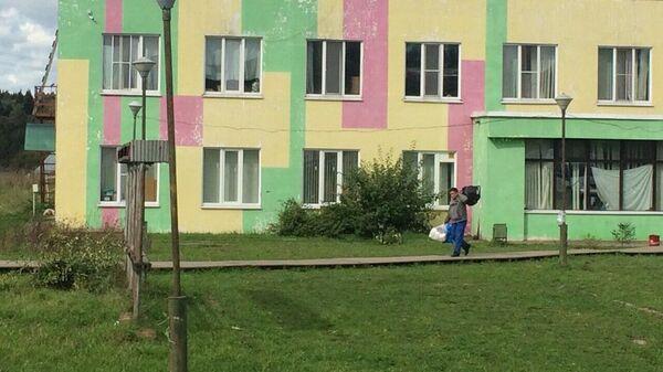 Общежитие мигрантов в Бужаниново