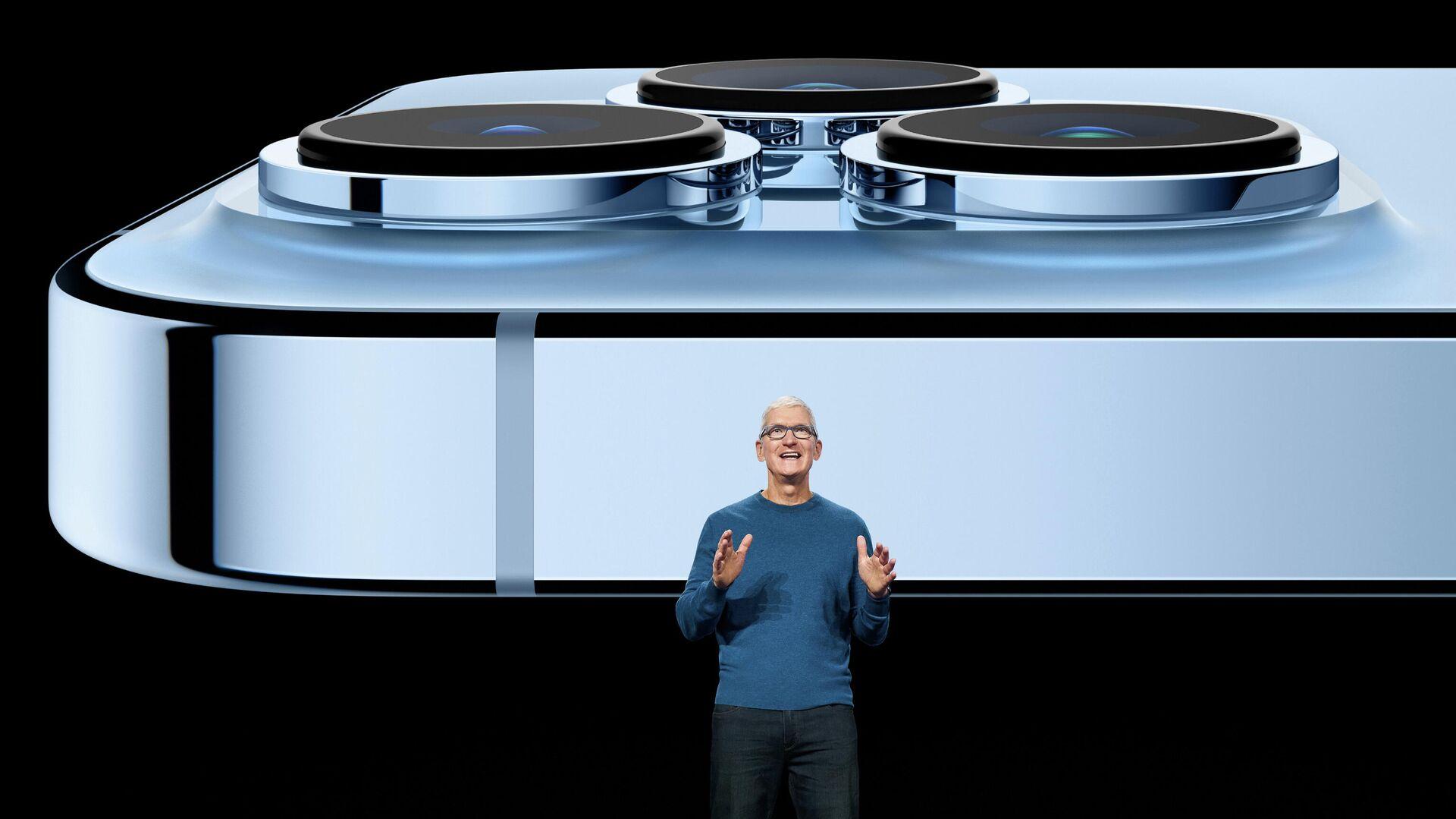 Презентация iPhone 13 в штаб-квартире компании Apple в Купертино, Калифорния - РИА Новости, 1920, 15.09.2021