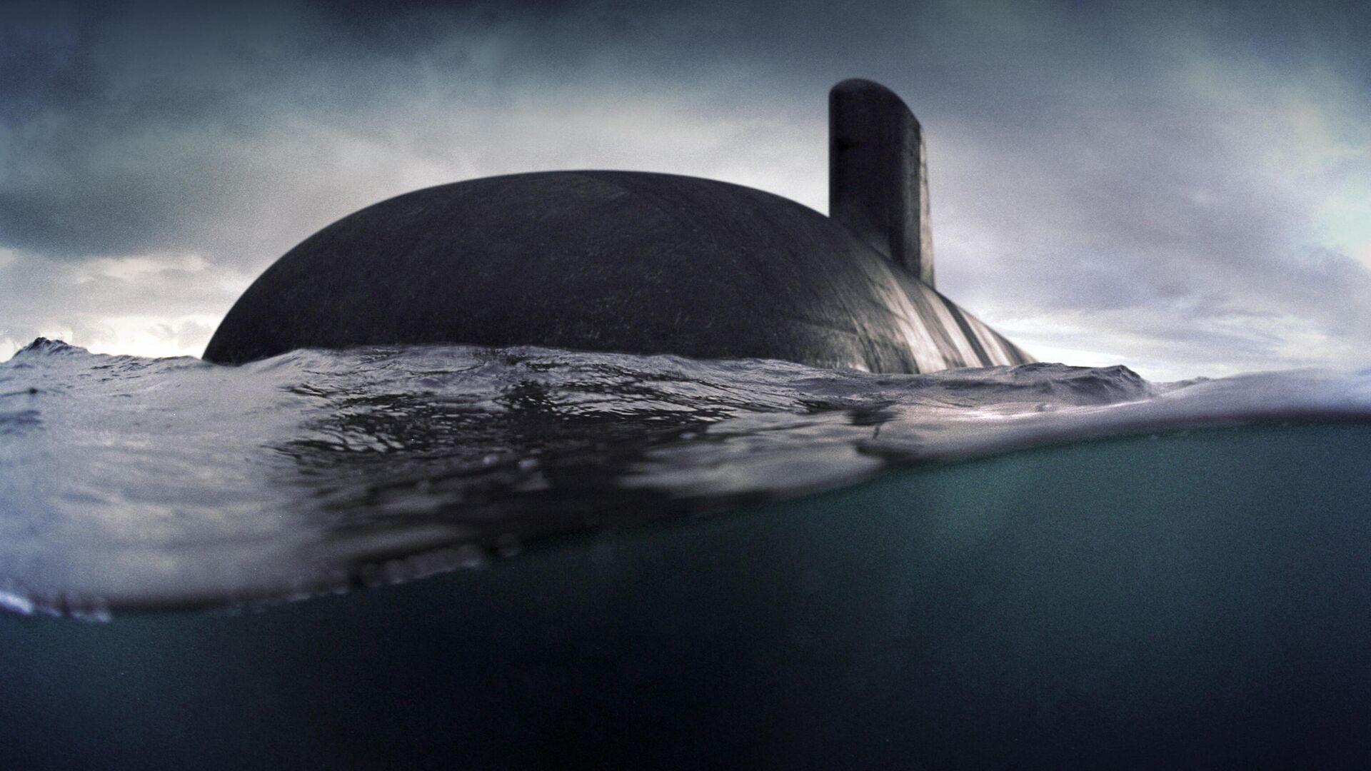 Компьютерная модель подводной лодки, разработанная французской Naval Group для австралийского флота - РИА Новости, 1920, 16.09.2021