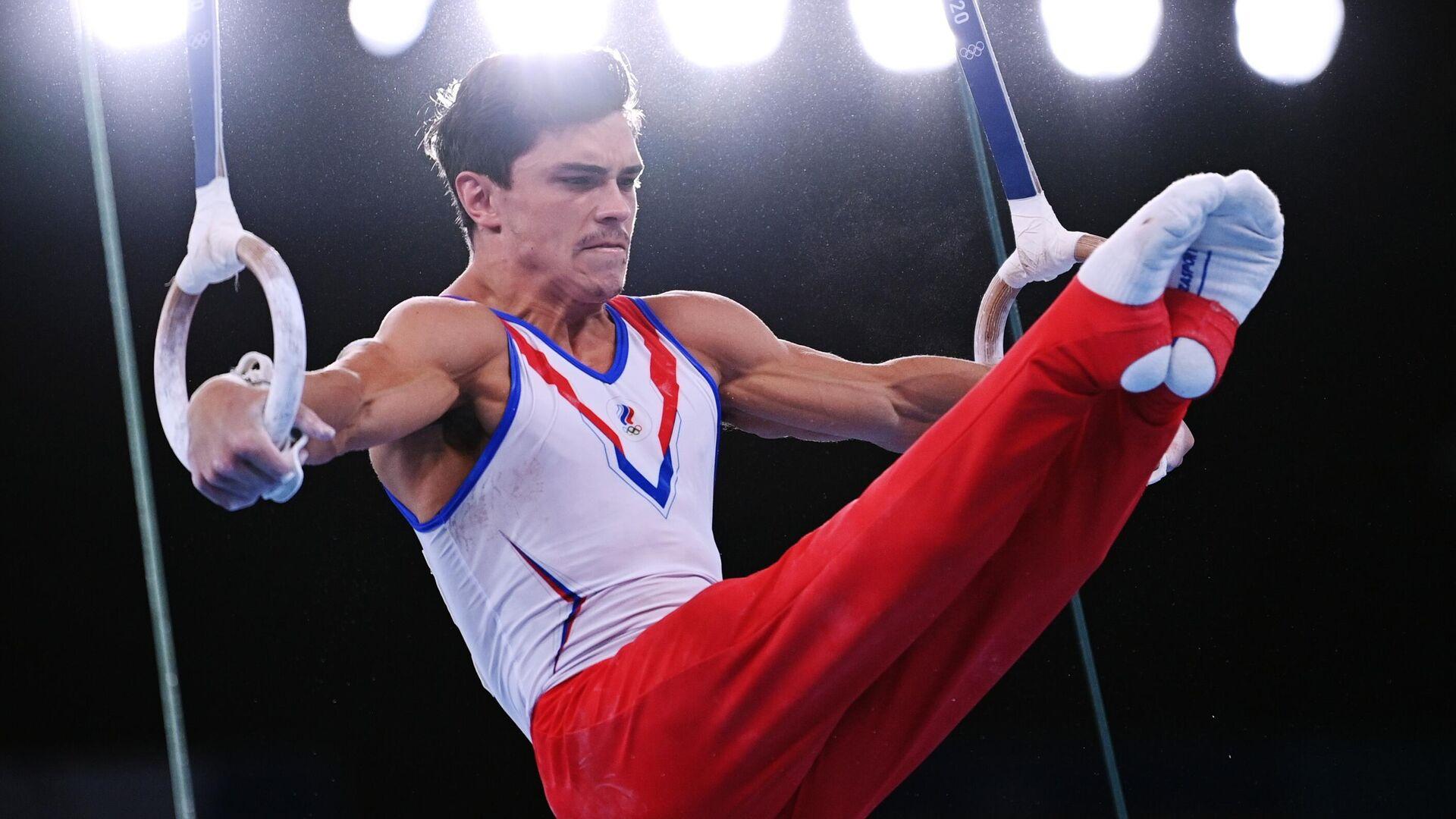Олимпиада-2020. Спортивная гимнастика. Мужчины. Индивидуальное многоборье - РИА Новости, 1920, 16.09.2021