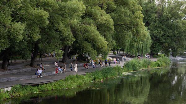 Набережная в Белгороде