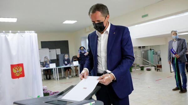 Временно исполняющий обязанности губернатора Белгородской области Вячеслав Гладков