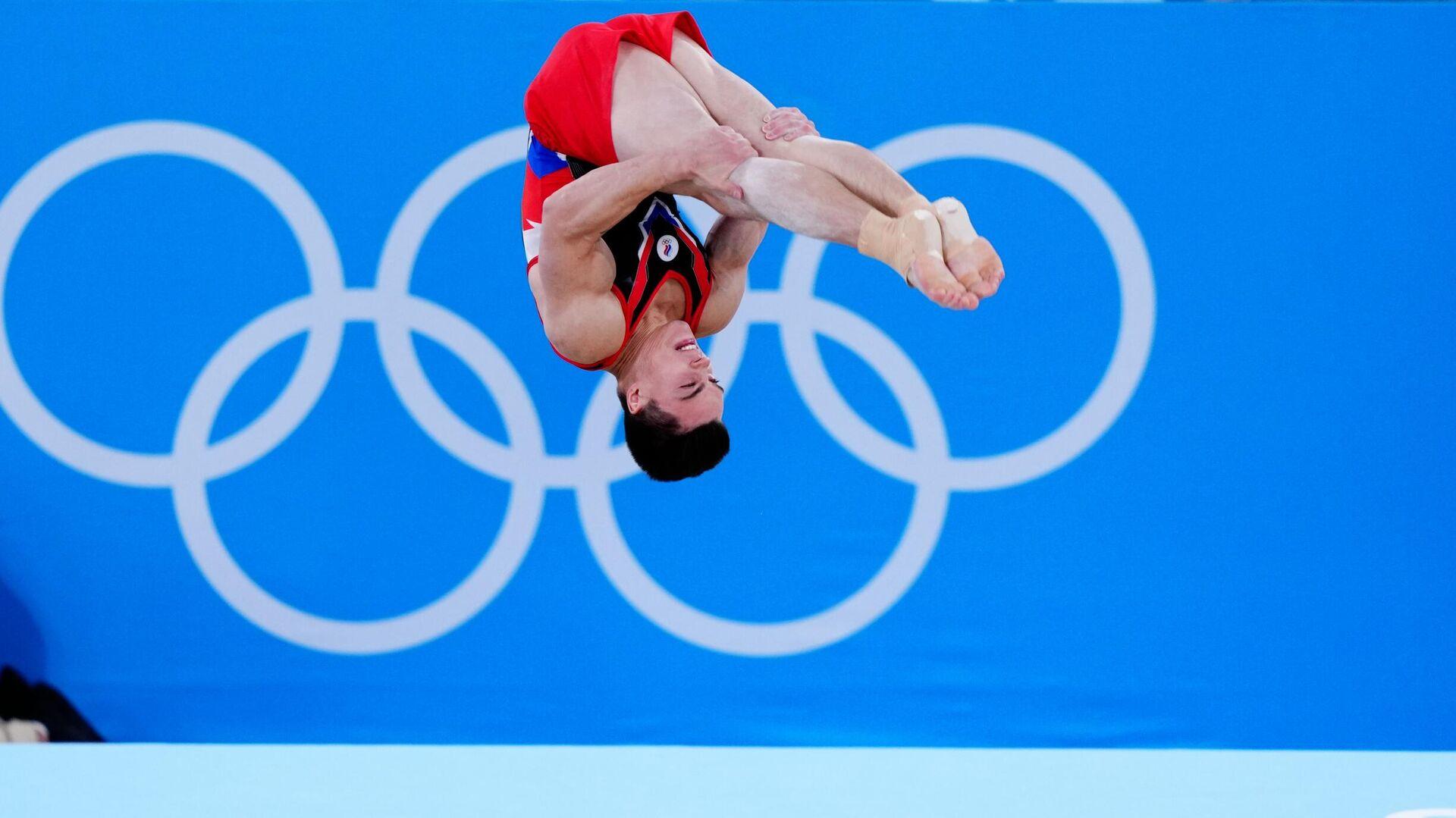 Олимпиада-2020. Спортивная гимнастика. Мужчины. Вольные упражнения - РИА Новости, 1920, 18.09.2021