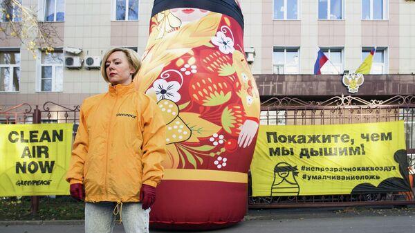 Директор по программам российского отделения Гринпис Полина Малышева