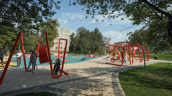 Новое общественное пространство появилось на месте пустыря в Щербинке