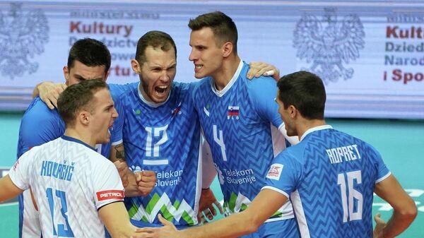 Волейболисты сборной Словении