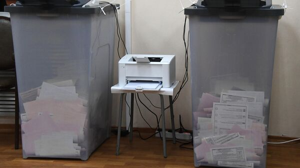 Комплексы обработки избирательных бюллетеней (КОИБ) на избирательном участке