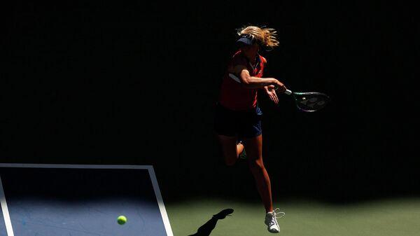 Теннисистка Клара Таусон (Дания)