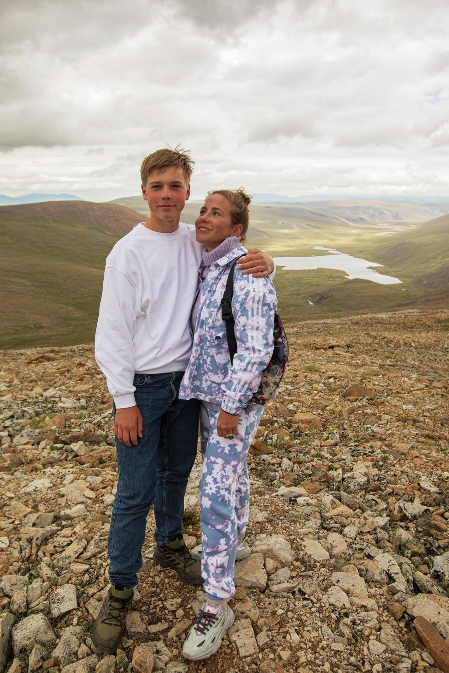 Артём и Юлия на Алтае